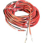 10 Metros De Cable Para Parlante Bafle 0,50 X 2 Rojo Negro