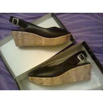 Prune Zapatos De Cuero Nuevos