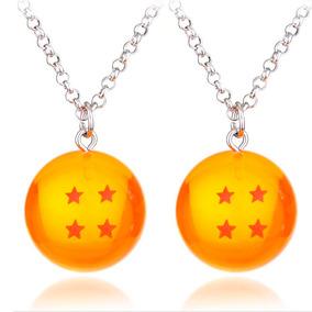 2 Collar Esfera Del Dragon Ball Z Envio Gratis Pareja Goku