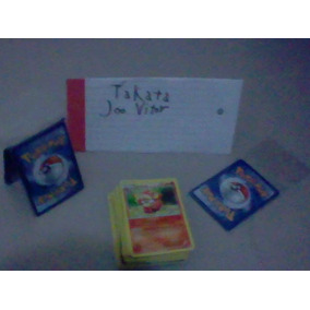 Lote De 5 Cards Pokemon Original! R$2,99