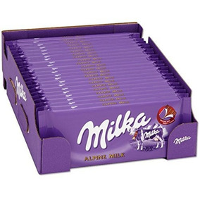 Chocolate Aleman Milka Mayoreo Caja Con 10 Barras
