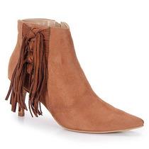 Ankle Boots Feminina Lara - Caramelo