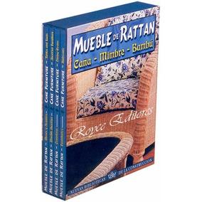 Mueble De Rattan Caña Mimbre Y Bambú 4 Vols