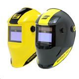 Máscara De Solda Automática Esab 9-13 Warrior Tech Preta