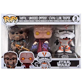 Funko Pop Emperor Tarfful Utapau Clone Trooper Walmart 3-pac