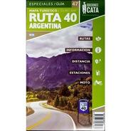 Mapa Rodoviário E Turístico Impresso Ruta 40 Argentina