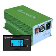 Cargador De Batería Inteligente Automático C/display 12v 15a