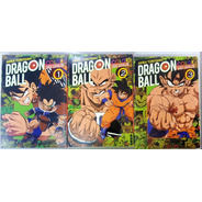 Dragon Ball Color- Saga Saiyajin-tomo 1 Al 3  Completa Ivrea