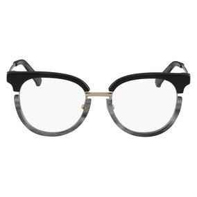 Óculos De Grau Calvin Klein Ck8061 076 50 Preto cinza 47dc77d2e7