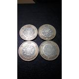 Moneda 10 Pesos 2007 Grafila Invertida 2 Piezas Por $549.