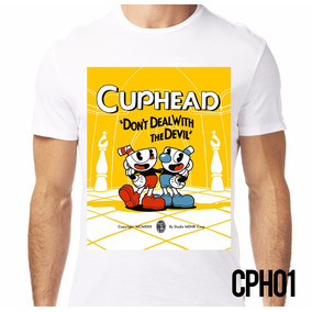 Playera Retromania Cuphead And Mugman Casino $220