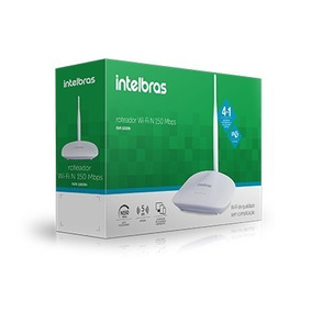 Roteador Wifi Intelbras 150mbps Iwr 1000n