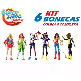 Dc Super Hero Girls Kit Com 6 Bonecas Dc Universe
