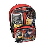 Juguete Dc Comics Batman Superman V Niños Mochila Grande Co