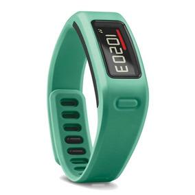 Smartband Garmin Vivofit Verde Monitora Calorias Passos Sono