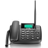 Telefone Celular Fixo Elgin Gsm200 Dual Desbloqueado Preto