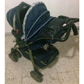 Carriola Y Porta-bebe Evenflo Azul