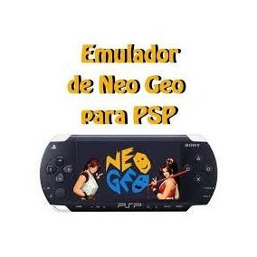 Para Psp Emuladores Nintendo 64 + 6 Jogos E Neo +145 Jogos