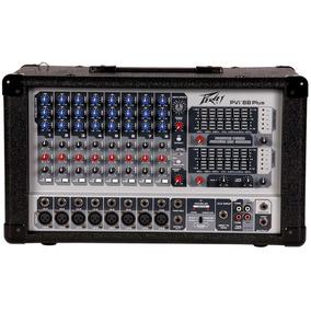 Mezcladora Amplificada Peavey Pvi8b Plus 8 Canales Consola