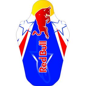 Capa De Banco Personalizada Red Bull Star Crf 230 2007-2016