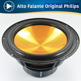 8 Alto Falante Subwoofer 6 Polegadas 4 Ohms 65w Philips