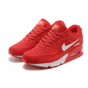 zapatillas nike air max rojas