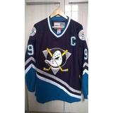 Jersey Hockey Nhl Anaheim Might Ducks Super Patos