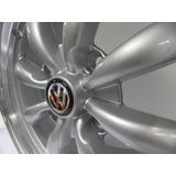 Rines 17x6 4-130 Spyder Silver Para Vw Vocho Juego 4 Pzas