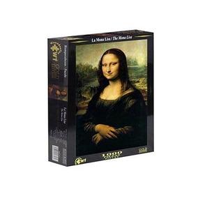 Rompecabezas Gold Edition Art 1000 Pzas Mona Lisa