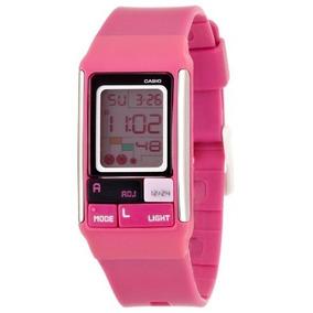 d9945254483e Lindo Reloj Casio Mod Ldf 31 Rosa Excelente Estado Bfn - Joyas y ...