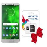 Celular Motorola Moto G6 3gb 32gb Plata Combo Micro Sd