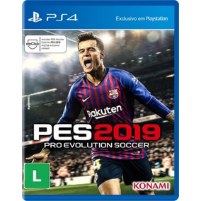 Pro Evolution Soccer 2019 Pes 19 Ps4 Portugues Midia Fisica