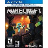 Minecraft Juego Vales - Playstation Vita
