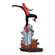 Spider Man 1/10 Bds Far For Home Iron Studios