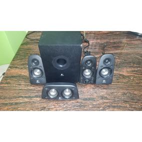 Cornetas Speakers Home Theater 5.1 Logitech Z506 Usadas