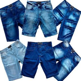 Kit 20 Bermudas Jeans Masculina Short Jeans Atacado Revenda
