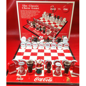 Ajedrez Coca Cola 2002- Juegos De Mesa- De Colección