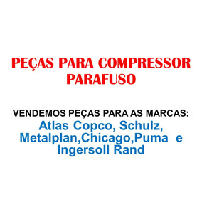 Peças Atlas Schulz Metalplam Chicago Puma Ingersoll Rand