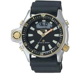 Relógio Citizen Aqualand Jp2004-07e Serie Ouro Oferta