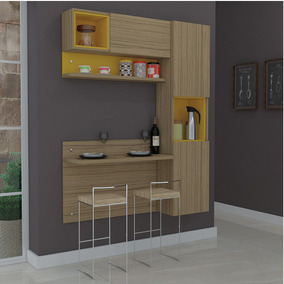 Cozinha Compacta Com 3 Módulos Prisma Móveis Ronipa N A