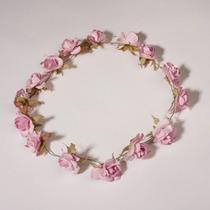 Tiara / Corona De Flores Para Niñas Y Damas