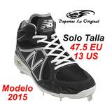 Gancho Tacos New Balance Beisbol Softbol Softball Talla 47.5