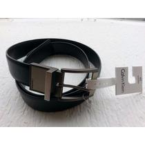 Cinturon Piel Calvin Klein Reversible 100% Original Nuevos
