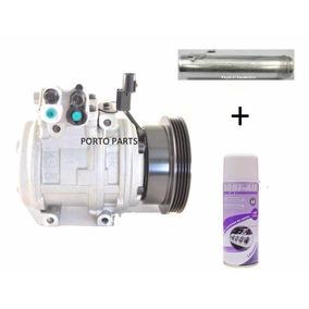 Compressor + Filtro Secador Tucson 2.0 Polia 4pk + Higieniza