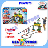 Tren Thomas Trackmaster Playset Super Station