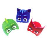 Mascaras Pj Masks 6 Unidades Cotillon Fiestacub