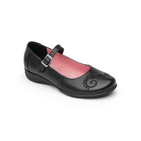 Oferta Zapato Flexi Para Dama Niña Cómodo Piel Escolar