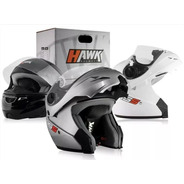 Casco Moto Hawk Rs5 Rebatible Flip Up Solomototeam