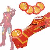 Guante Lanzador De Tazos De Iron Man Marvel