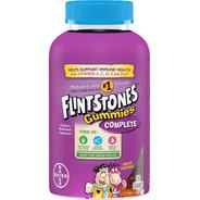 Vitamina Infantil Importada Flintstones 250 Gummies Original